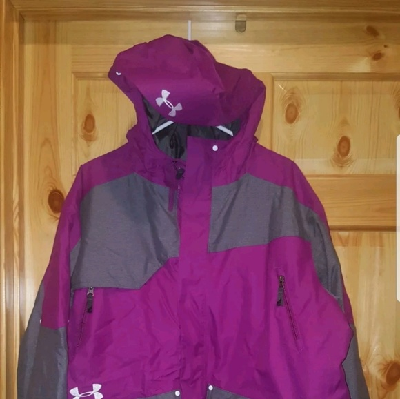 Under Armour Other - Men's Under Armour Coat size XL loose Purple NWT